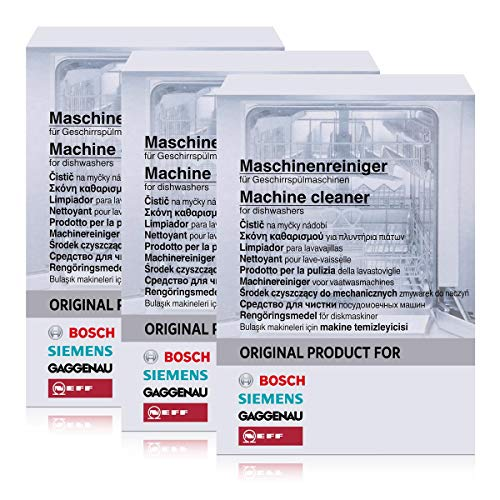 BSH Maschinenreiniger für Geschirrspülmaschinen 200g (3er Pack)