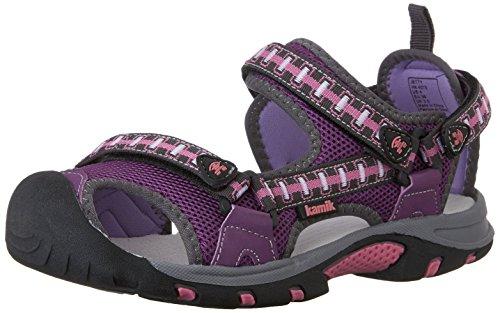 Kamik Kamik Unisex-Kinder Jetty Sandalen, Violett (Purple/PUR), 34 EU