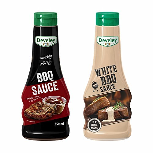 Develey BBQ Sauce & White BBQ Sauce (BBQ-Set 2x 250ml)