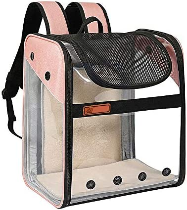 Pet Backpack Carrier for Small Medium Dogs Cats Expandable Deluxe Transport Bag for Travel Outdoor product image