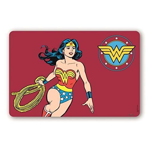 Excelsa Wonder Woman Tovaglietta, Bordeaux, Spessore: mm. 0,5, 44 x 29 cm