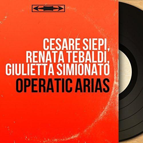 Cesare Siepi, Renata Tebaldi, Giulietta Simionato