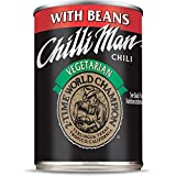 Gourmet Food Gifts! - Chilli Man • Canned Vegetarian Chili With Beans (Pack of 12), 15 ounce can