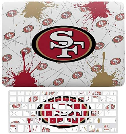 G III Sports San Francisco 49Ers New 2020 MacBook air 13 Case Laptop Hard Case and Keyboard product image