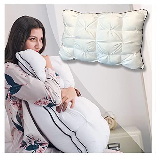 Pillows Super Support Soft Luxury Hotel Sleeping Pillow, Duvet...