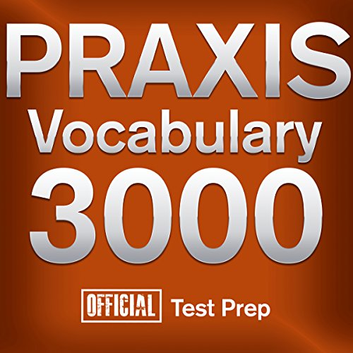 Official Praxis Vocabulary 3000 audiobook cover art