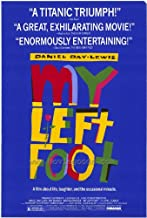 My Left Foot Movie Poster (27 x 40 Inches - 69cm x 102cm) (1989) -(Daniel Day-Lewis)(Brenda Fricker)(Ray McAnally)(Cyril Cusack)(Fiona Shaw)(Hugh O'Conor)
