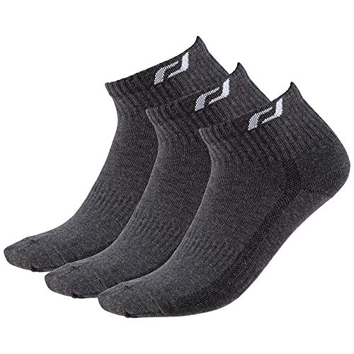 Pro Touch calcetín New ljubl Jana 3Pack–Grey Dark, Color Gris Oscuro, tamaño 36-38