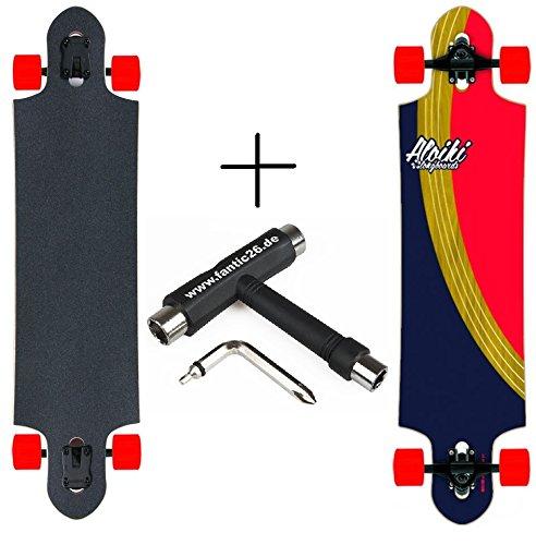 Aloiki Longboard + Fantic26 Skatetool (Curve + Skatetool)