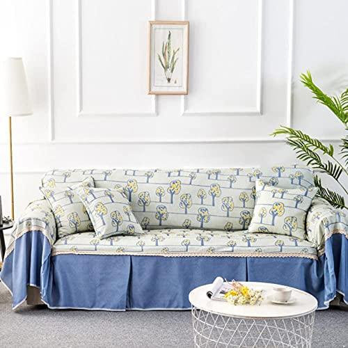 HZYDD Cubiertas de sofá de Tela, sofá Moderno Sofá Sofá Sofá Sofá Protector de Muebles Lavable 1pc-A 215x300cm (85x118 Pulgadas)