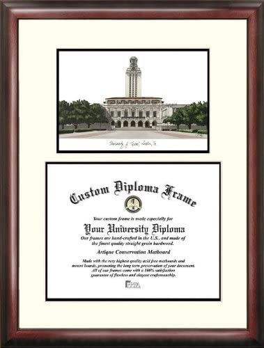 Campus Images TX959V University of Texas Austin Scholar Diploma Max 71% OFF In a popularity