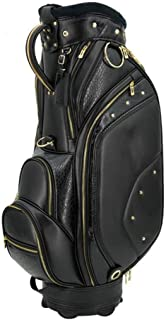 Golf Club Bag, Lightweight and Portable, Waterproof Material, Black happyL