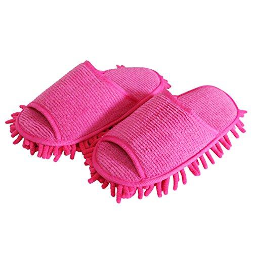 THEE Limpiador de Polvo Zapatillos de Casa de Baño