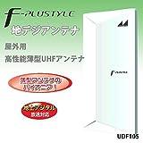 日本アンテナ 地上デジタルアンテナ (屋外用)F-PLUSTYLEシリーズ 【高機能型】 UDF105