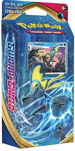 Pokemon TCG: Sword & Shield Theme Deck Featuring Inteleon