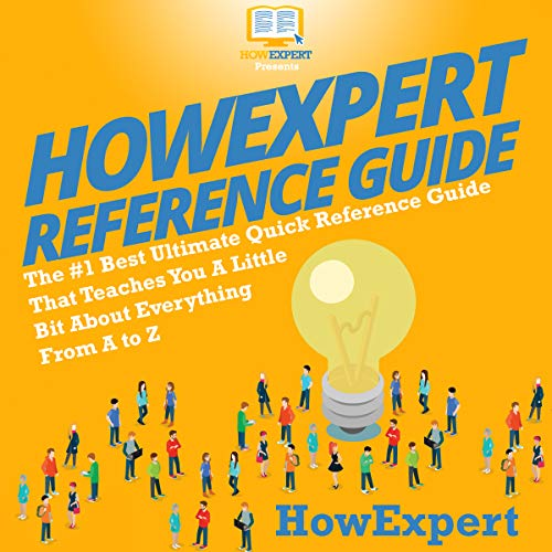 HowExpert Reference Guide audiobook cover art