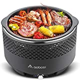 Aobosi Barbecue da Tavolo Barbecue Senza Fumo|Barbecue a Carbone Portatile|BBQ Griglia in ...