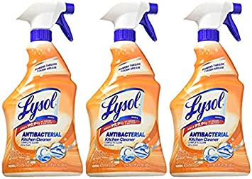 Lysol Antibacterial Kitchen Cleaner Pack Of 3 Health Personal Care Amazon Com