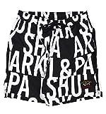 PAUL & SHARK - Bañador para hombre, tipo bóxer de playa, color negro, fantasía, 21415045 200-32539. predeterminado XXXL
