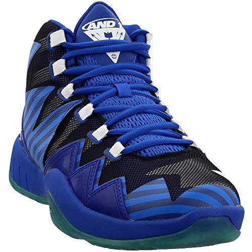 AND1 Mens Boom Basketball Casual Shoes, Blue, 9