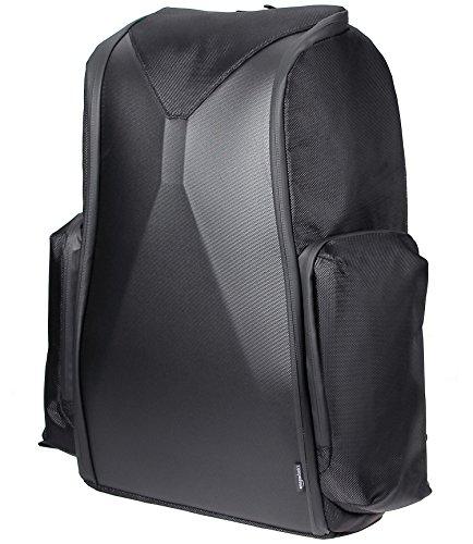 Amazon Basics PlayStation 4 and PlayStation Virtual Reality Headset Travel Backpack - 17 x 7.5 x 20 Inches, Black