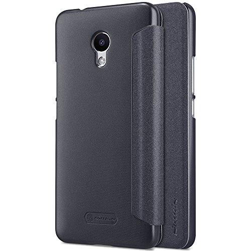 Kepuch Sparkle Meizu M5S Hülle - Smart PU Leder Hülle Tasche Hülle Cover für Meizu M5S - Schwarz