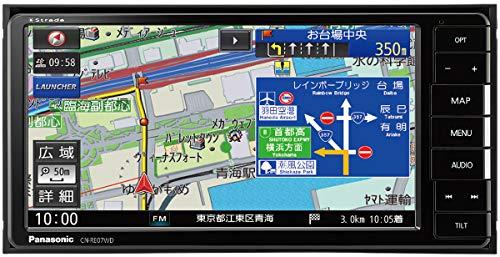パナソニック 7型ワイド カーナビ ストラーダ CN-RE07WDA ドラレコ連携/Bluetooth/フルセグ/DVD/CD/SD/USB; セール価格: ¥65,800