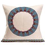 Funda de almohada Indexp con brillante patrón bohemio. Funda de almohada Home Collection de sofá, Style J, 43cm*43cm