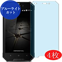 【4 Pack】 Synvy Anti Blue Light Screen Protector for Blackview BV4000 Pro Blue Light Blocking Screen Film Protective Protectors [Not Tempered Glass] Updated Version