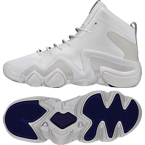 Adidas Crazy 8 ADV (ASW), Zapatillas de Deporte para Hombre, Blanco (Ftwbla/Ftwbla/Purrea 000), 44 2/3 EU