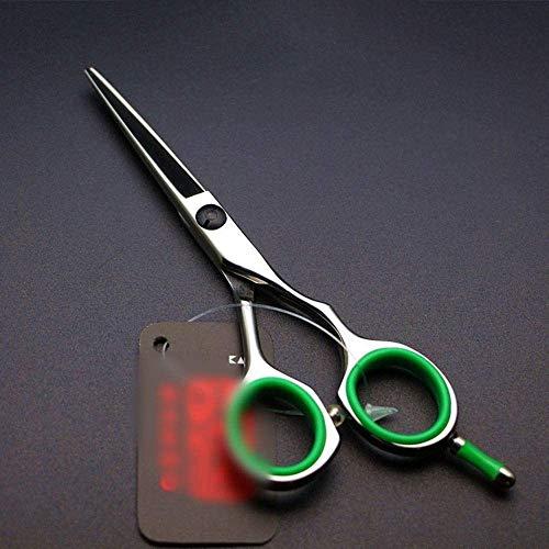 HYNB 5 inch kleine schaar Kappersschaar, rechte groene handverfschaar (kleur, groen), groen, groen