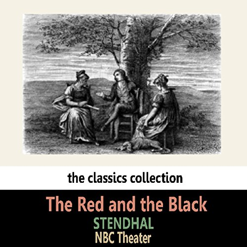 The Red and the Black audiobook cover art