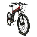 Extrbici VTT Mountain Bike XF770 17 * 26' vélo électrique Pliant Montagne 500 Watts...