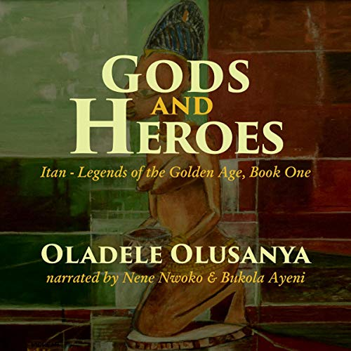 Gods and Heroes audiobook cover art