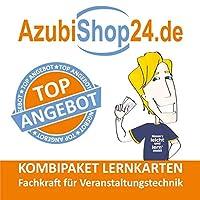 AzubiShop24.de Kombi-Paket Lernkarten Fachkraft fuer Veranstaltungstechnik