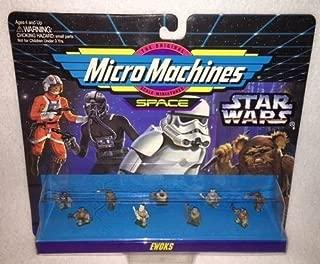 Star Wars Micro Machines Ewoks Space Figures