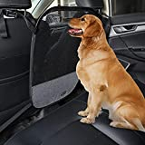 Petsfit Dog Car Net Barrier, Vehicle Pet Barrier with Adjusting Rope and Sturdy Hook, Car Divider for Safe Driving with Children and Pets, Universal for Cars, SUVs