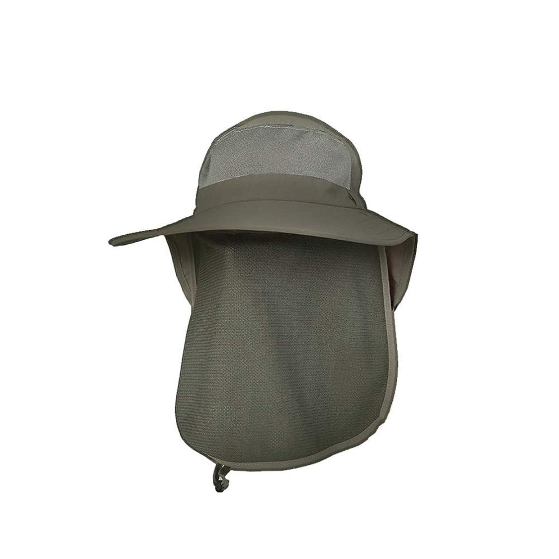 要求する広告主反応するYMS-日よけ帽 太陽の帽子メンズ夏の涼しい帽子ハイキング帽子日焼け止めUVサファリ帽子屋外日陰釣りキャップ 屋外の紫外線保護 (Color : B)
