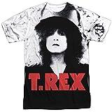 Trevco Men's Slider Double Sided Print Sublimated T-Shirt, White, XX-Large