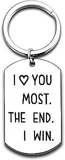 Husband Wife Keychain Gifts for Him Her Birthday Gifts Anniversary Jewelry Boyfriend Girlfriend Keychain