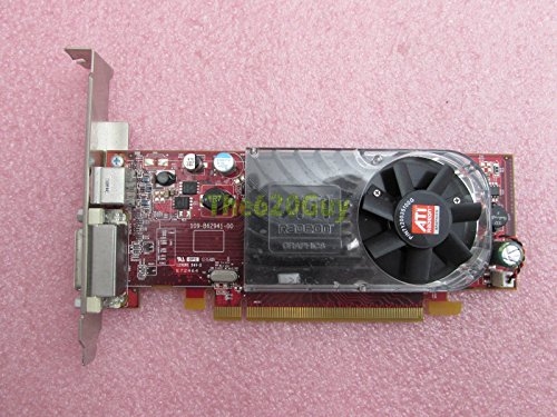 Dell X398D ATI Radeon HD 3450 256MB 64-Bit DMS-59/TV Out PCIe x16 Grafikkarte