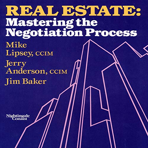Real Estate: Mastering the Negotiating Process audiobook cover art