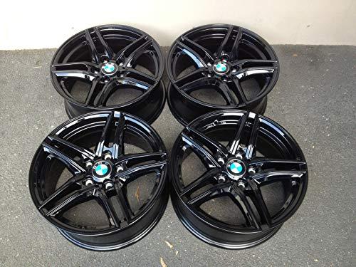 4 x 16 Zoll Borbet XR Alu Felgen 7x16 ET31 5x120 schwarz Glanz glänzend für 1er 3er E87 E82 E46 F22 E90 E92 E91 F30 Z3 ABE M Paket Coupe Cabrio 3 5 Türer Allrad Compact Limo Kombi Touring NEU