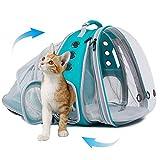 SOURCER Mochila transportadora de gatos grande, frontal y trasera, doble...