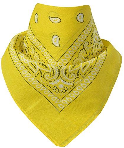 Miobo Bandana - Pañuelo para el cuello, 100% algodón, talla única