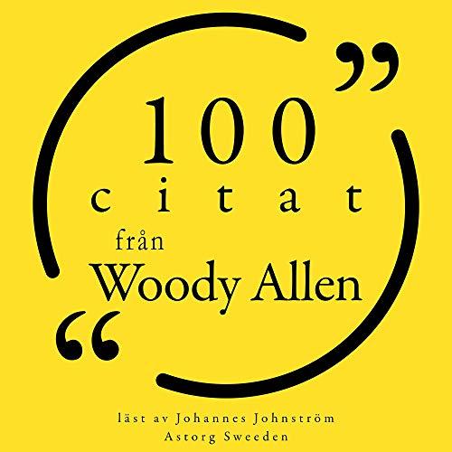 100 citat från Woody Allen cover art
