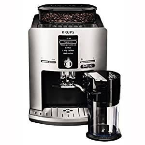 Krups EA82FE Independiente Totalmente Automática – Cafetera (Independiente,