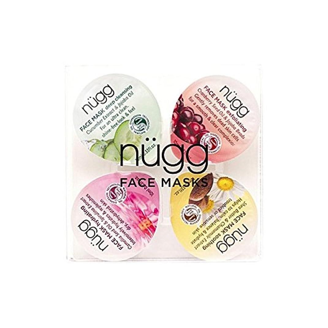 敵顕著責任者フェイスマスクセット x2 - Nugg Face Mask Set (Pack of 2) [並行輸入品]