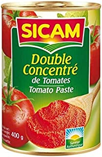 Sicam Double Concentrated Tomato Paste, 400 gm