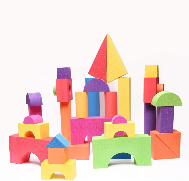QXMEI Kinderspielzeug Kinderblcke Eva-Schaum Kinderbausteine